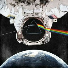 Pink Floyd cover in the space