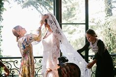 The Olsen Twins Design A Wedding Dress & It's A Dream #refinery29  http://www.refinery29.com/2014/07/71401/mary-kate-ashley-olsen-design-wedding-dress#slide1  A pass-the-tissues moment, indeed.
