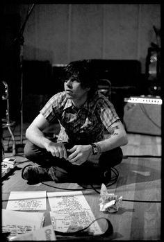 I really don't like Ryan Adams as a person but he's an amazing songwriter!