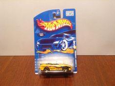 Hot Wheels '95 Camaro Convertible #141 2000 Yellow 1995 Chevrolet Pace Car #HotWheels #Chevrolet