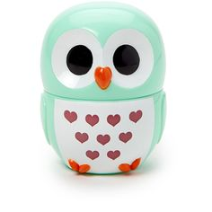 FOREVER 21 Owl-Shaped Hand Cream ($4.80) ❤ liked on Polyvore featuring beauty products, bath & body products, body moisturizers, makeup, mint and forever 21