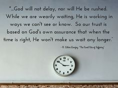 God's timing is perfect | infertility | AmateurNester.com