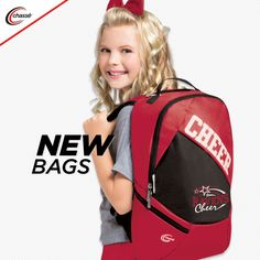 Chassé 2018 Bags! Cheer Bags, Cheerleading Outfits, New Bag, New Product, Travel Bags, Backpacks, News, Fashion, Travel Handbags