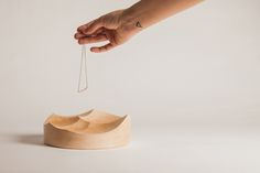 Carved Bowls by Kutraq StudioInspired #DesignPorn