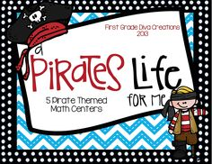 $5.50 Arghhh! It's always time for pirates! Included in this product are six math activities. Also included is a philosophy of why you may want to include a math night in your classroom activities, and helpful tips on how to pull it off like a pro!