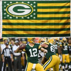 New Green Bay Packers Team Flag! #greenbaypackers #greenbay #packers #packersfootball #gopackgo #packersfans
