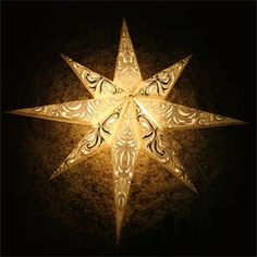 How to make a paper star of bethlehem this one can be for Diy star lantern
