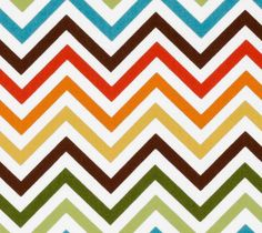 Remix Zig Zag Chevron Stripe Bermuda Aqua Brown Ann Kelle - Robert Kaufman  - Fabric - Fat Quarter 18 by 22 1d15cf0e5b6