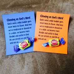 Chewing on Gods word - made this for the year olds class Bible Object Lessons, Bible Lessons For Kids, Bible For Kids, Bible School Crafts, Bible Crafts, Childrens Sermons, Children's Church Crafts, Church Activities, Church Games