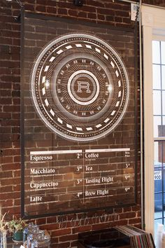 I'm pinning this specifically for that amazing menu items typeface.  Revolver Coffee by Post Projects