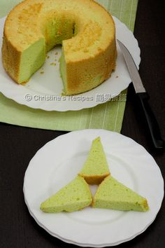 Pandan Chiffon Cake - Christine's Recipes: Easy Chinese Recipes | Easy Recipes