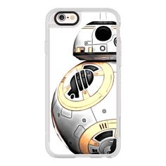 iPhone 6 Plus/6/5/5s/5c Case - Star Wars BB-8 Droid ($40) ❤ liked on Polyvore featuring accessories, tech accessories, iphone case, iphone cover case, iphone hard cases and apple iphone cases
