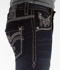 cbf26a6f True Religion Mens Jeans Size 34 1/2 Ricky w/ Flaps Rope stitch ...