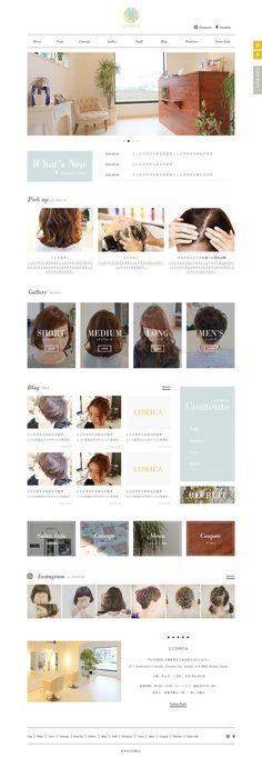 ia_56さんの提案 - 兵庫県明石市の美容院、ホームページリニューアルにつきトップデザインの募集(1ページのみ)   クラウドソーシング「ランサーズ」