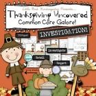 SO many fun and engaging activites to compliment your Thanksgiving theme! ELA with empahsis on Oral Language  - Math - Writing -