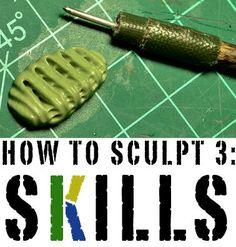 How to Sculpt 3: Sculpting Skills - Faeit 212: Warhammer 40k News and Rumors
