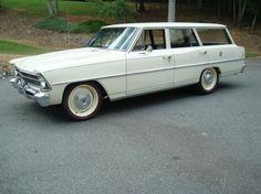 1967 Chevrolet Nova Station Wagon, 355 4bbl stroker/TH350 Auto/3.36 axle