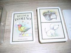 Bilder Domino Dominospiel ab 3 Jahre unbespielte Karten Altenburg DDR