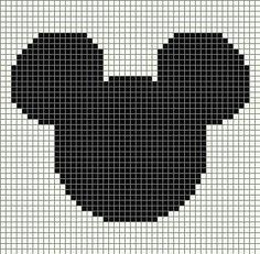 Resultado de imagen de mickey santa hat c2c pixel