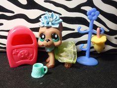 Littlest Pet Shop Rare Mommy Amp Baby Purple Koalas 2501