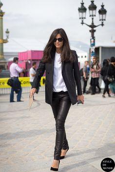 Barbara Martelo Street Style Fashion Street przez STYLEDUMONDE Street Style Fashion Blog