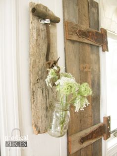 Reclaimed Barn Wood Rustic Coat / Towel Rack by ProdigalPieces
