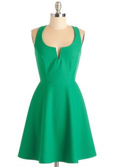 Shared Laughter Dress in Green