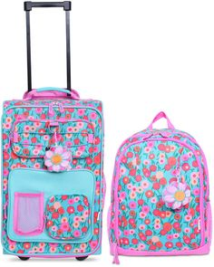 cb500731730c Crckt Kids 2-Pc. Printed Carry-On Suitcase   Backpack Set Suitcase Backpack