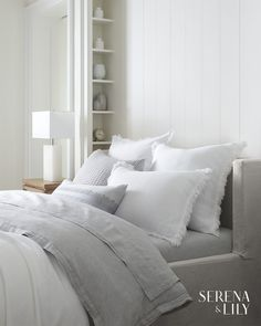 home luxury design is luxury design design fargo design office design trends design craftsmanship summit 2019 design living room interiors design packaging Grey Duvet, Linen Duvet, Duvet Bedding Sets, Luxury Bedding Sets, Coastal Bedrooms, Guest Bedrooms, Coastal Bedding, Guest Room, Home Bedroom