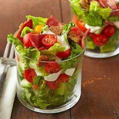 BLT Salad Cups