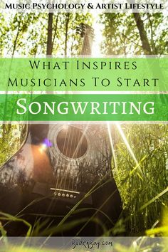 Music blog. Article based on the psychology of a beginner songwriter. Written by Buden Bay's primary blogger Jake McCullough.