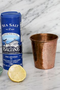 Simple, fast and environmentally safe method for cleaning your Moscow mule mugs.