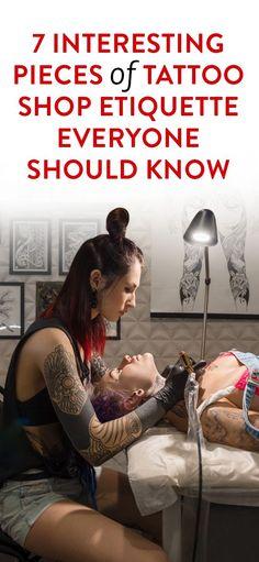 tattoo etiquette