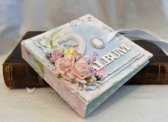RANDI'S LILLE BLOGG: Mini-album med tutorial