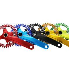 one piece MTB integrated Chainwheel crank set 10 175 crankset with round chainring Star Mtb, Swiss Army, Cycling, One Piece, Free Shipping, Stars, Al Dente, Star, Plate