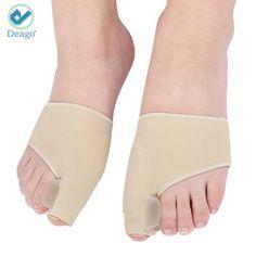 Gel Pad Bunion Sleeves Bunion Corrector Big Toe Straightener Pain Relief Hallux Valgus Correction - One Pair Booties by Smart Fun Bunion Relief, Pain Relief, Bunion Pads, Gel Toe Separators, Toe Spreader, Gel Toes, Hammer Toe, Big Toe, Feet Care