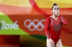 Aly Raisman Breaks Down as She Wins Silver in Olympic Gymnastics All-Around…