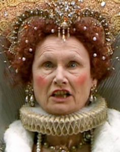 Angela Pleasence as Queen Elizabeth I in Doctor Who