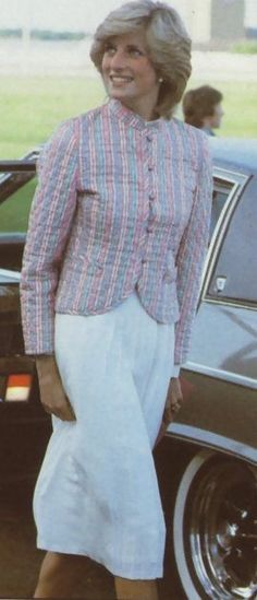 May 29, 1983: Princess Diana at a polo match at Smith's Lawn, Windsor.
