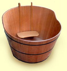 portable japanese soaking tub. ofuro  Japanese bathtub My friends had one like this but now the A great alternative to traditional No installation needed