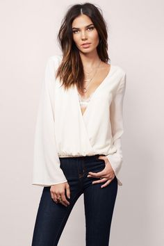 Delicate Touch Top