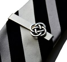 Celtic Tie Clip, Gift Box Included, Guaranteed on Etsy, $29.00