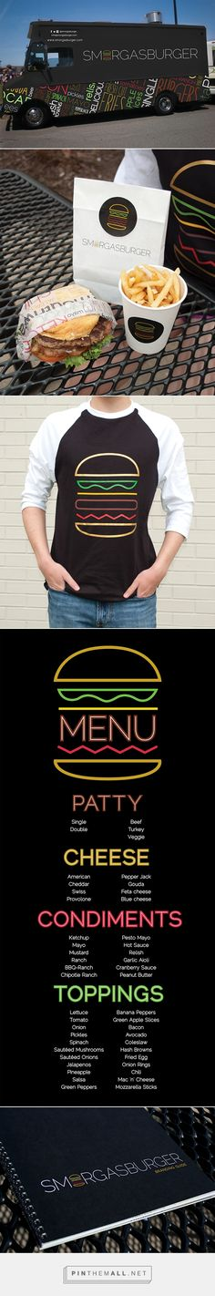 Smorgasburger Food Truck on Behance | Fivestar Branding – Design and Branding Agency & Inspiration Gallery