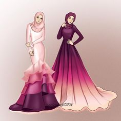 44 Ideas For Fashion Hijab Sketsa Dress Design Drawing, Dress Design Sketches, Fashion Design Sketchbook, Dress Drawing, Fashion Design Drawings, Fashion Sketches, Drawing Clothes, Drawing Sketches, Fashion Model Drawing