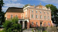 """Zdjęcie. Tytuł: """"Pałac w Kurozwękach"""". Opis: """"...""""."""