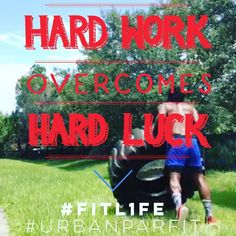 WORK OVER LUCK // #URBANPARFIT is excited to announce our fit expansion into the #centralFlorida market starting with St. Cloud Kissimmee and Lake Nona. Our FL rollout features BOOT CAMP 1-on-1 and SMALL GROUP FIT.  Weve partnered with #FITL1FE in #StCloud (Florida) as our first location for #BOOTCAMP Small Group and 1-on-1 Training.  If youre interesting in a fitness consultation PRESS THE CONTACT BUTTON to link with us via phone or email.  Whether youre an weekend athlete a yoga mom or…