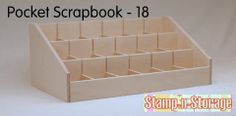 Project Life Pocket Pocketed Scrapbook Storage Organization