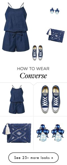 """""""#1758"""" by apvick on Polyvore featuring Dorothy Perkins, Sole Society and Converse"""