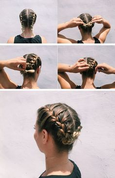nice 5 Simple Workout Hairstyles From A Beauty Guru Athletic Hairstyles, Sporty Hairstyles, Workout Hairstyles, Braided Hairstyles, Active Hairstyles, Pool Hairstyles, Hairstyles Haircuts, Summer Hairstyles, Short Hair Makeup
