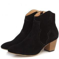 Isabel Marant Black Boots $318.00